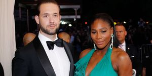 Alex Ohanian and Serena Williams | ELLE UK