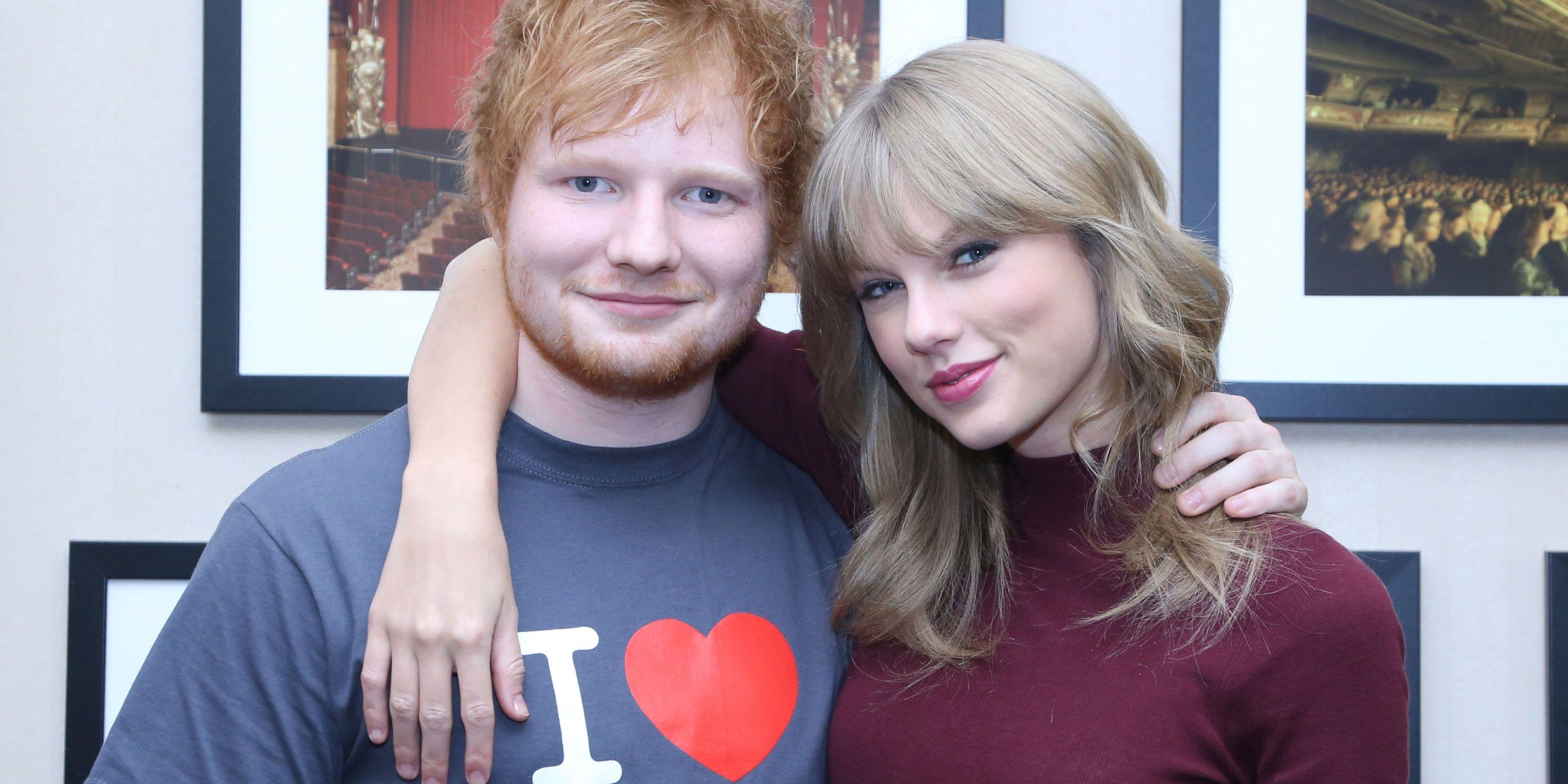 Ed Sheeran And Taylor Swift | ELLE UK