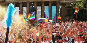 Australians Gather To Hear Result Of Marriage Equality Survey | ELLE UK
