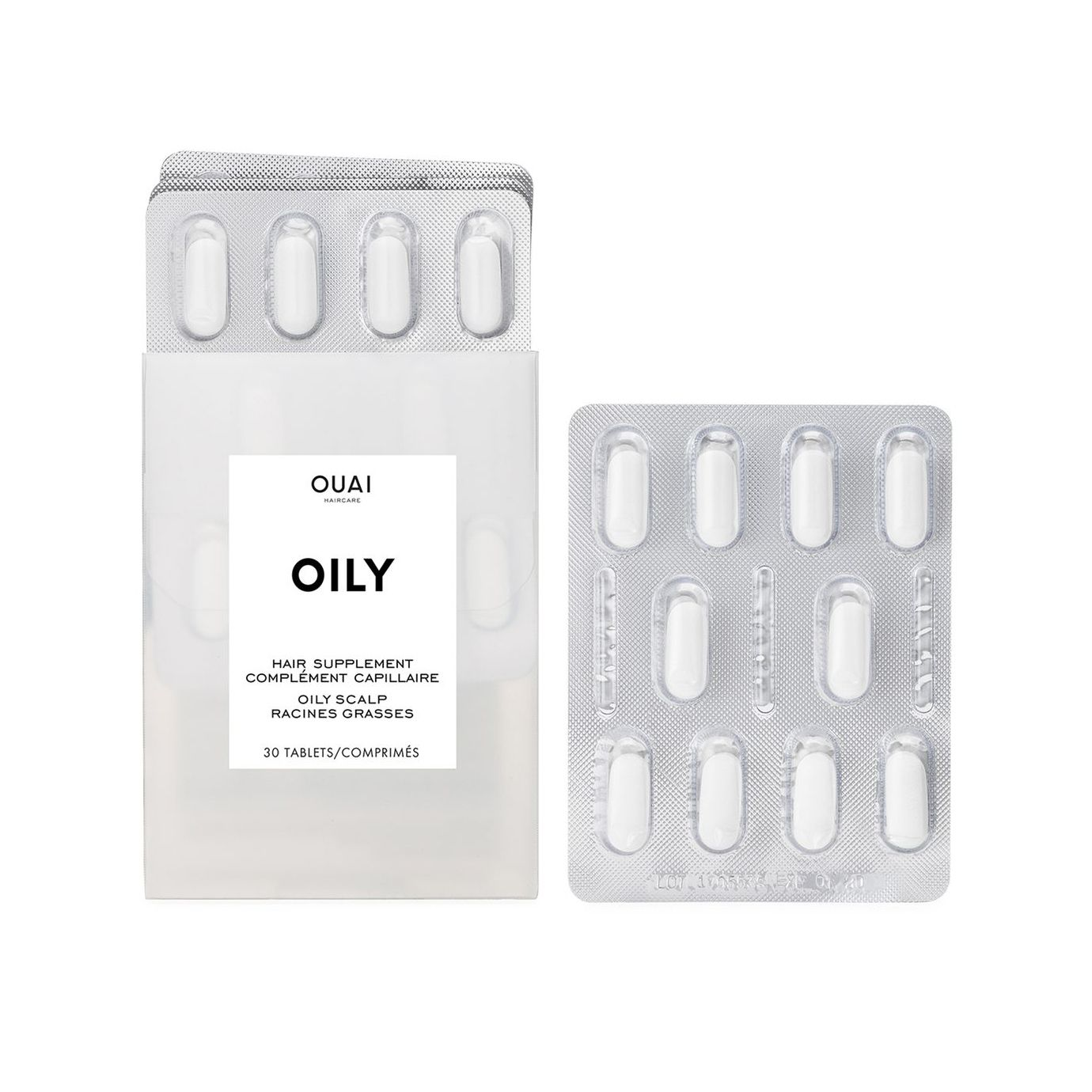 OUAI Oily Hair Supplements