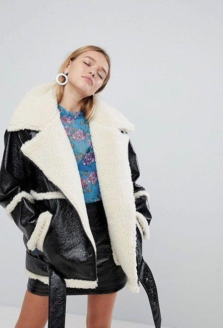 Clothing, White, Blue, Outerwear, Beauty, Fashion, Fur, Jacket, Coat, Fashion model,