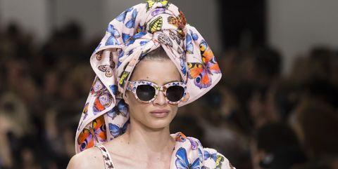 Eyewear, Sunglasses, Glasses, Street fashion, Fashion, Hat, Yellow, Vision care, Headgear, Lip,