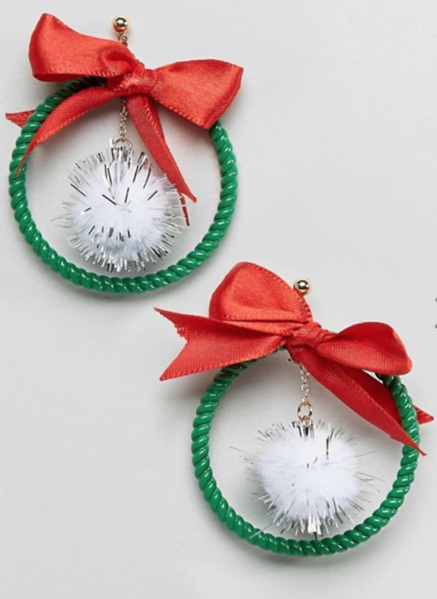 ASOS Christmas Garland Earrings
