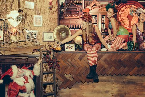 Christmess, London supperclub and immersive theatre pop-up
