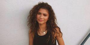 Zendaya Curly Hair
