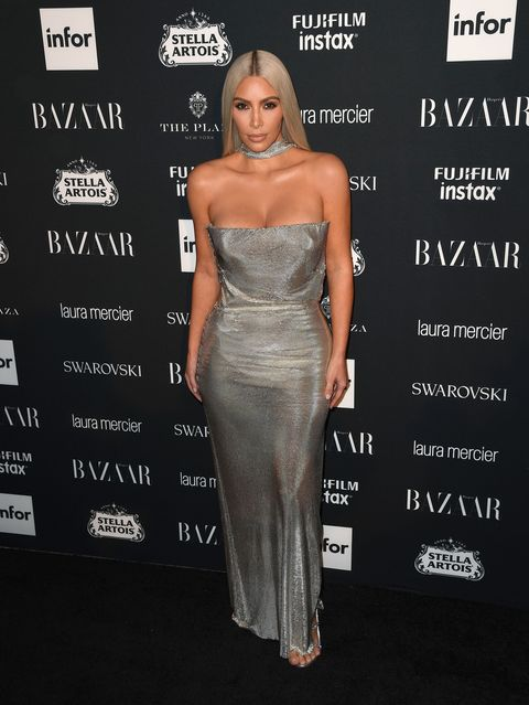 Kim Kardashian West, Harper's Baazar Icon party