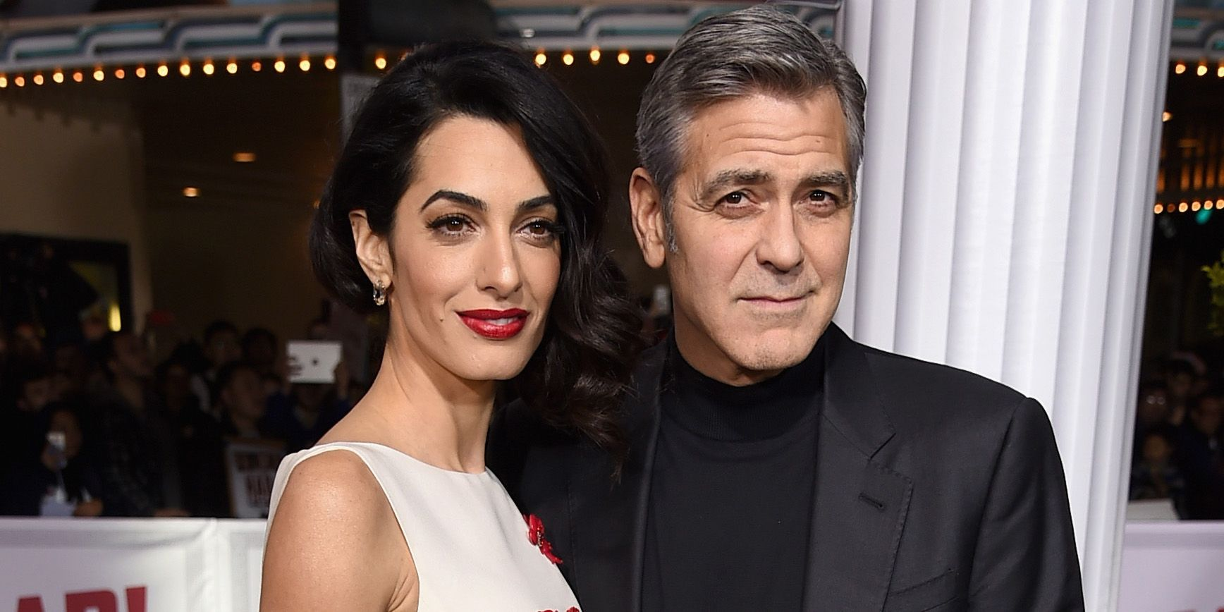 George and Amal Clooney Have Revealed the Sex of Their Twins