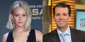 Jennifer Lawrence Donald Trump Jr