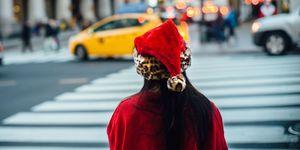 Woman alone at Christmas | ELLE UK