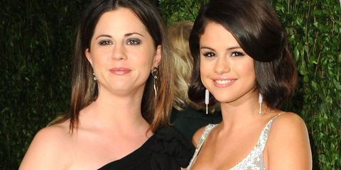 Selena Gomez and Mandy Teefey | ELLE UK