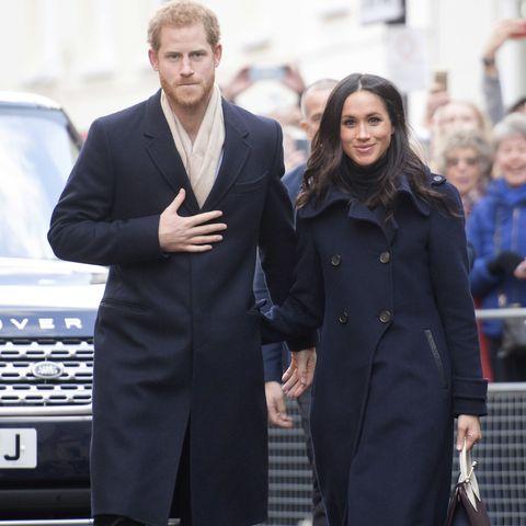 Prince Harry and Megham celebrate St David's Day