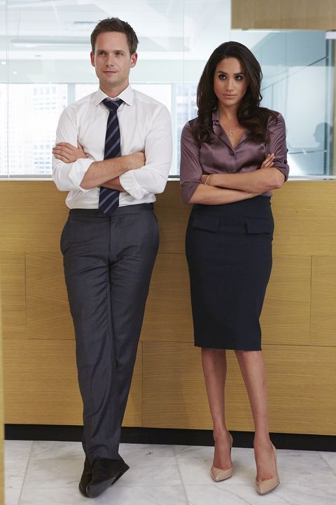 The Duchess of Sussex played Rachel Zane in Suits