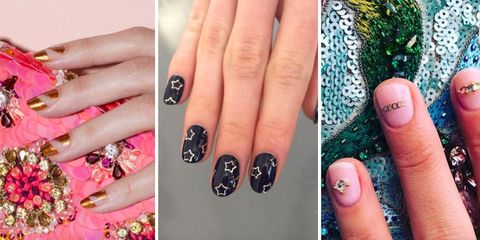 15 New Years Eve Nail Art Designs And Ideas