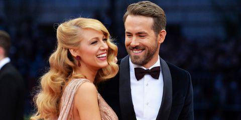 Blake Lively And Ryan Reynolds Elle Uk
