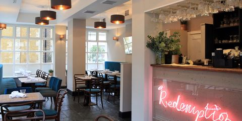 Redemption, Vegan restaurant Shoreditch, London