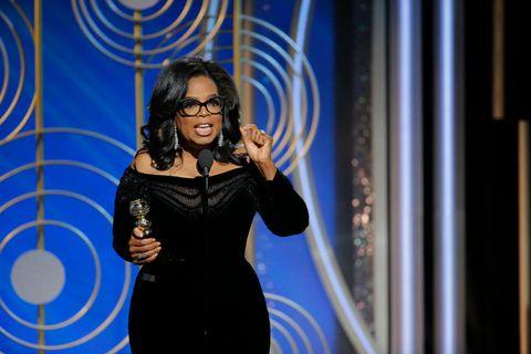 Oprah Winfrey speech at Golden Globes