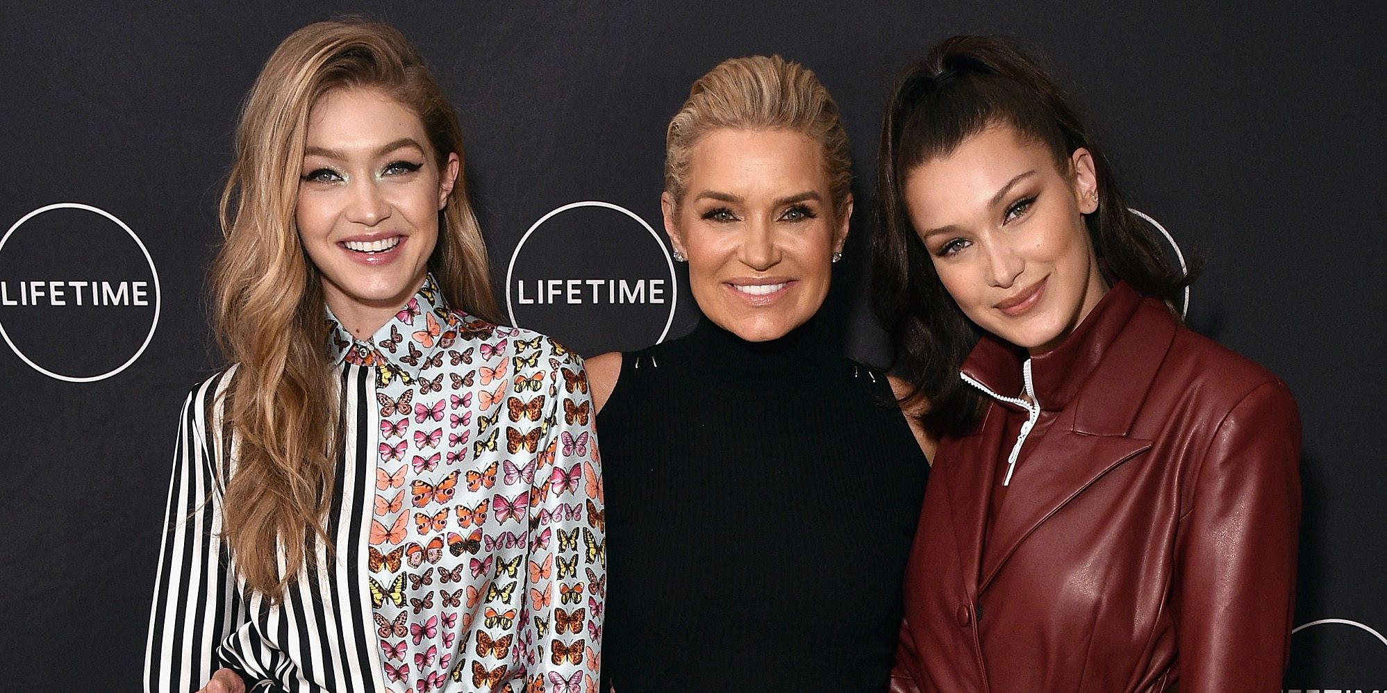 b644ffcb39ed6 Gigi Hadid And Bella Hadid Gush About Mother Yolanda On 54th Birthday