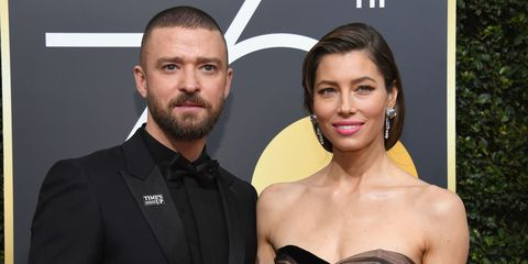 Justin Timberlake and Jessica Biel   ELLE UK