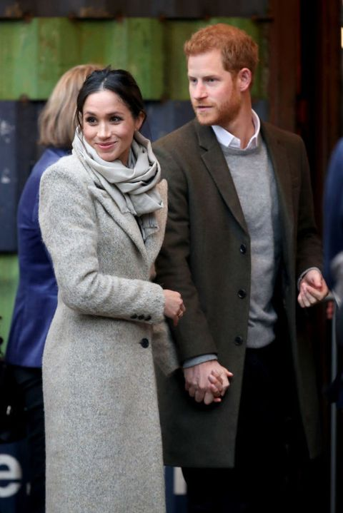 Meghan Markle and Prince Harry Brixton