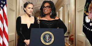 Oprah Winfrey, Natalie Portman, 2020