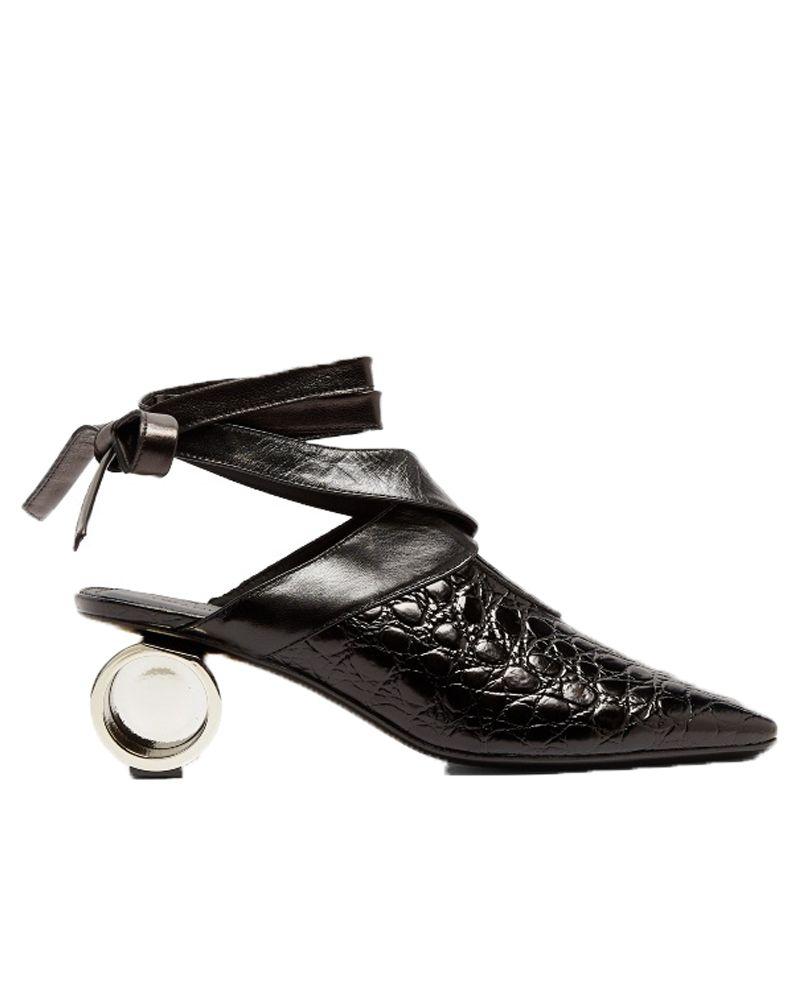 black, j w anderson, shoes