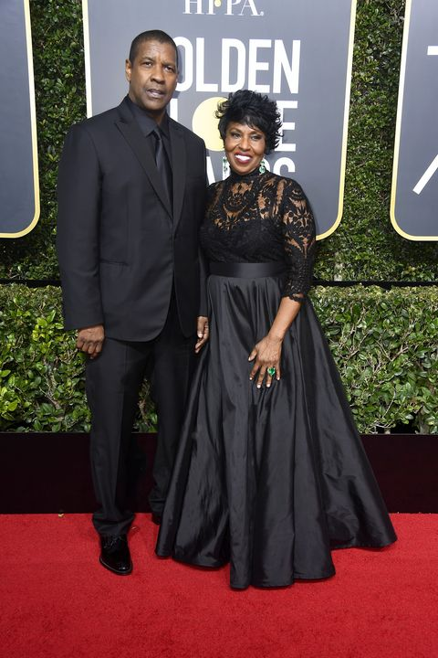 Couples on red carpet at Golden Globes 2018 | ELLE UK
