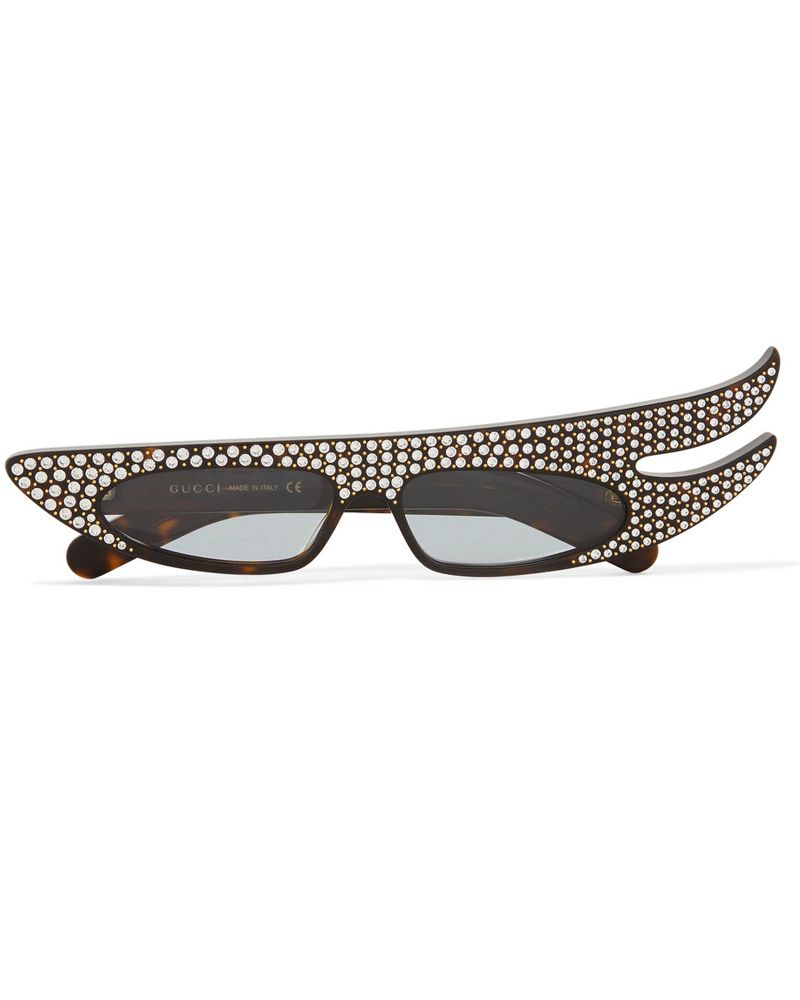 rhinestone gucci sunglasses