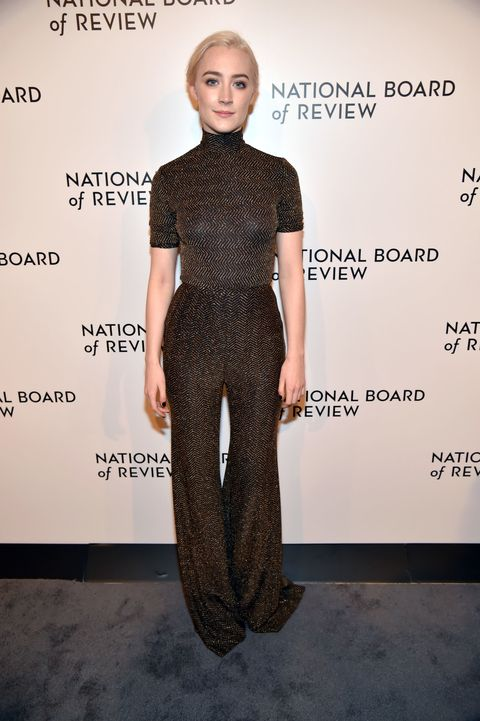 Saoirse Ronan Emilia Wickstead to The National Board of Review's Annual Gala in NYC.