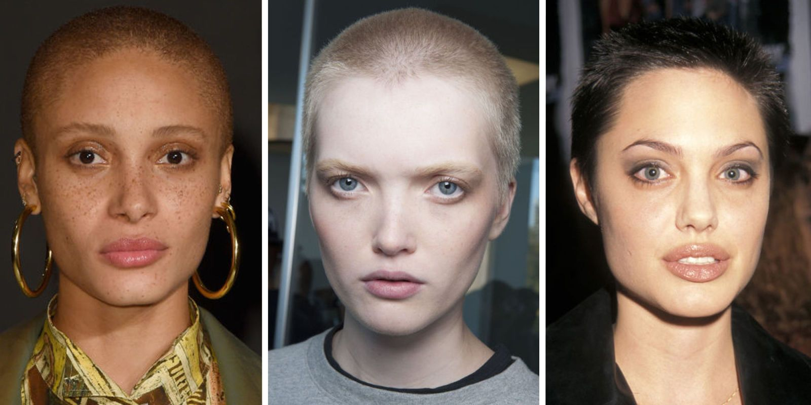 Actresses shaved bald