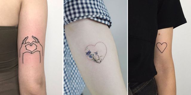 Heart Tattoos 14 Tattoo Designs To Inspire Your Next Ink