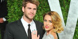 Liam Hemsworth and Miley Cyrus | ELLE UK