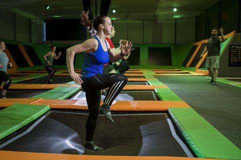 Trampolinspringen |Fitness steigern Geheimnisse aus dem Spitzensport