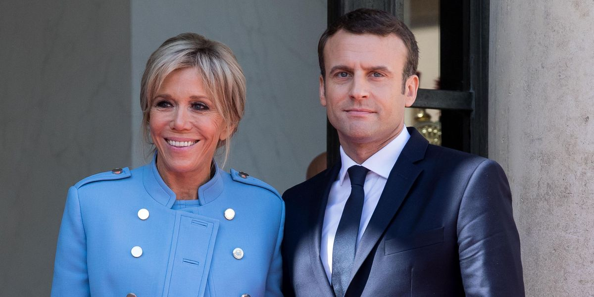 Brigitte Macron Reportedly Spat On When She Began Dating French President Emmanuel Macron