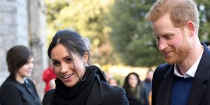 Meghan Markle and Prince Harry in Cardiff
