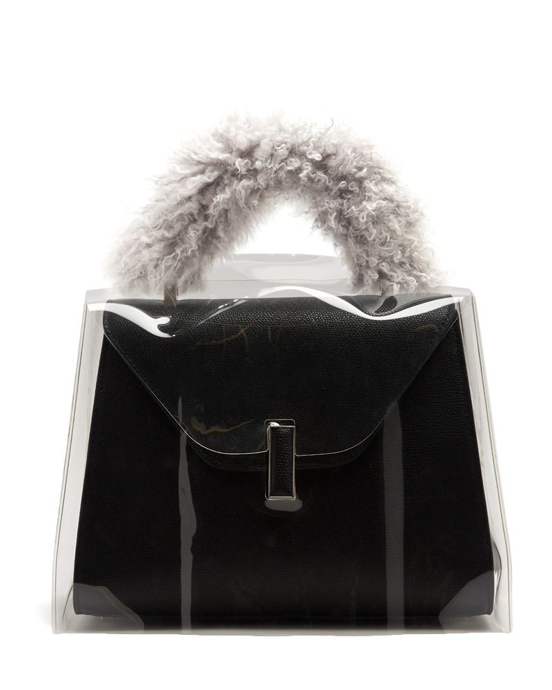 Valextra, Iside medium raincoat, bag