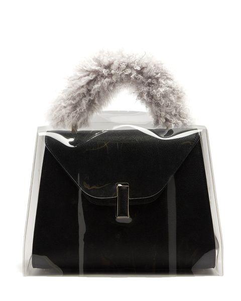 Valextra Iside Medium Raincoat Bag