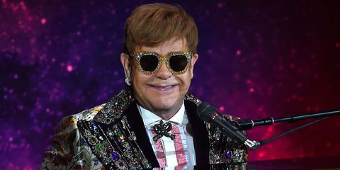Elton John Christmas Outfit.Elton John Will Live His Best Life In Gucci For Farewell Tour