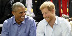 Prince Harry and Barack Obama | ELLE UK