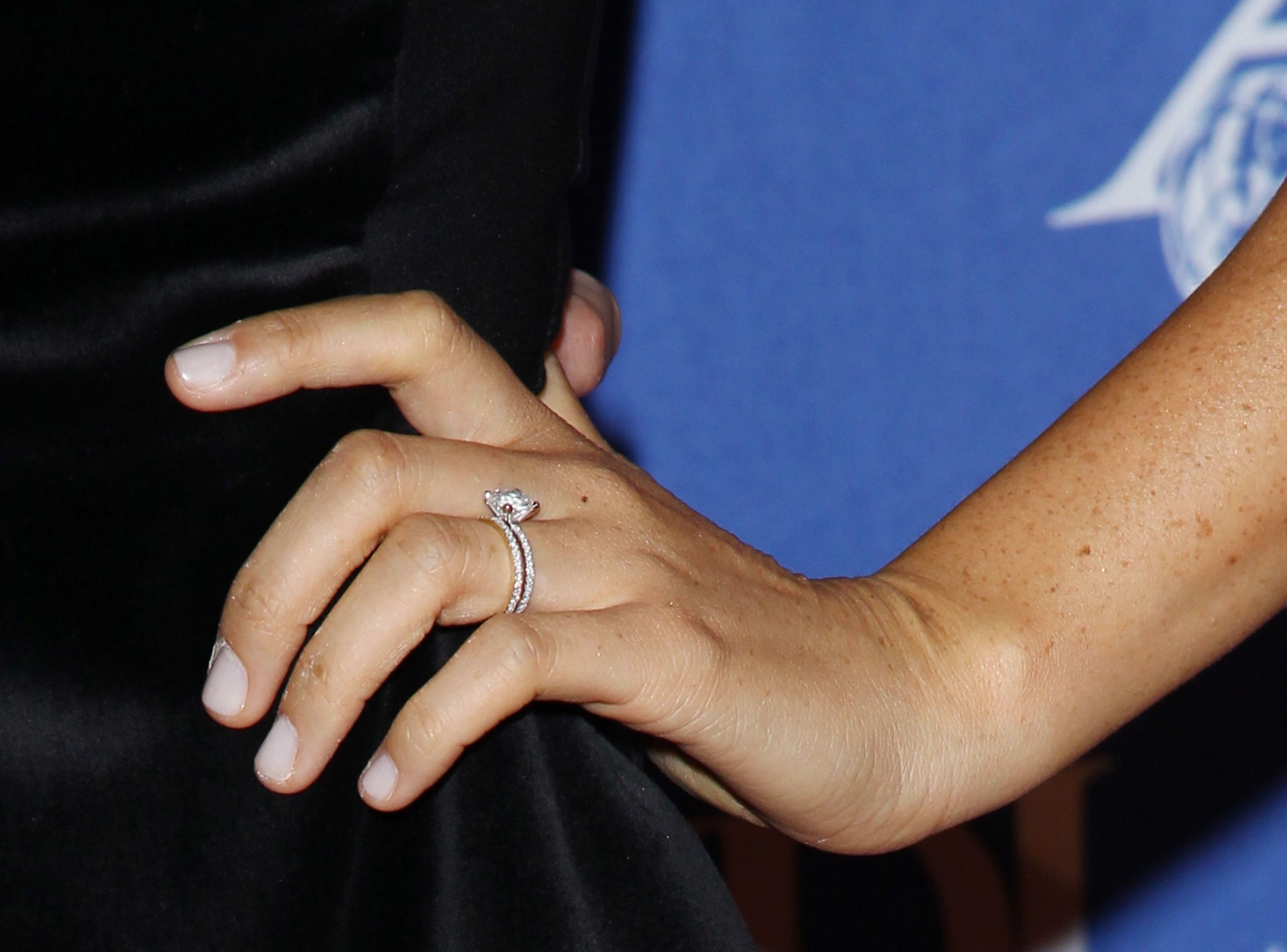 Meghan Markles First Wedding Ring The Ring Meghan Markle Wore