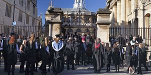 Female students at Oxford University