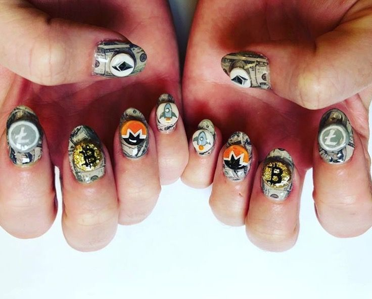 Nail Art Designs - The Best Celebrity Nail Art For All Your Manicure  Inspiration