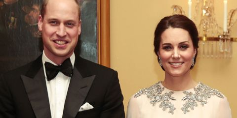 Kate Middleton Dazzles In Blush Pink Alexander McQueen Dress To Royal Dinner In Norway