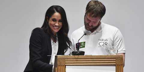 Meghan Markle Encountered An Awkward Moment During Her Endeavour Fund Awards Speech