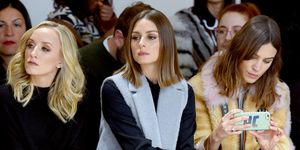 alexa chung and olivia palermo on the front row new york fashion week february 2018