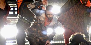 Justin Timberlake performs at Super Bowl 52 in 2018