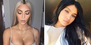 Kim Kardashian west kylie jenner babies