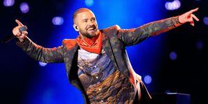 Justin Timberlake   ELLE UK