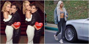 Paris Hilton and Kardashian