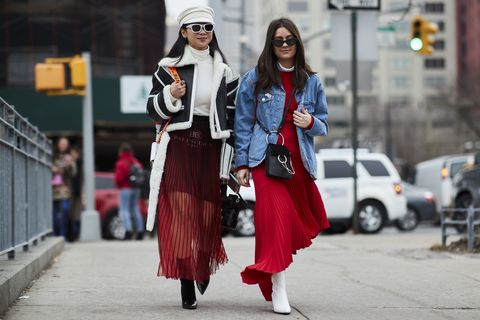 best street style New York Fashion week february 2018