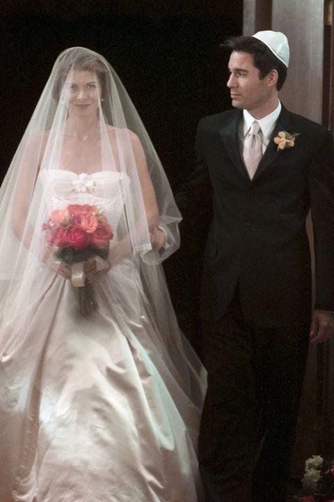 Clothing, Face, Head, Bridal veil, Veil, Sleeve, Trousers, Human body, Coat, Dress,